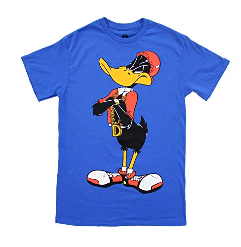 looney-tunes-hip-daffy-duck-front-and-back-adult-t-shirt-adult-x-large