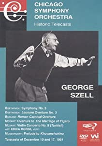 Chicago Symphony Orchestra - Historic Telecasts with George Szell (Mussorgsky / Beethoven / Berlioz / Mozart)