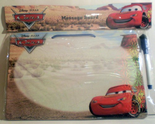 Disney Pixar Cars Dry Erase Board with Marker