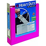 Avery Heavy-Duty View Binder with 2-Inch One Touch EZD Rings, Pink, 1 Binder (79723)