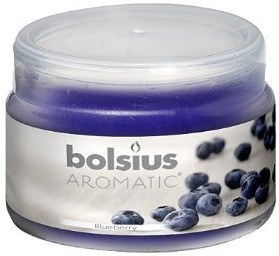 Ivyline Bolsius 63 X 90 Mm Scented Glass Jar Blue Berry by Ivyline
