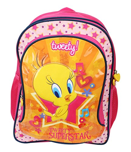 "Tweety Tweety School Bag 18"" (Multicolor)"