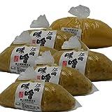 江崎味噌850g×6袋入 麦みそ/米味噌 (麦みそ5袋/米みそ1袋)