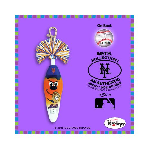 Kooky Klickers Collectible Pen - Krew MLB - NEW YORK METS #S019 at Amazon.com