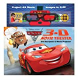 Disney Pixar Cars 2 3-D Movie Theater [With Movie Projector and 3-D Glasses] Cynthia Stierle