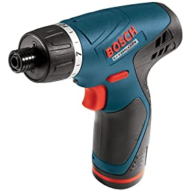 Bosch PS20-2 Litheon 10.8-Volt Lithium-Ion Pocket Driver with 2 Batteries
