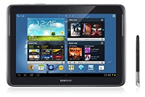 Samsung Galaxy Note 10.1 N8000 16GB Black WiFi + 3G Unlocked Android Tablet - International Version No Warranty