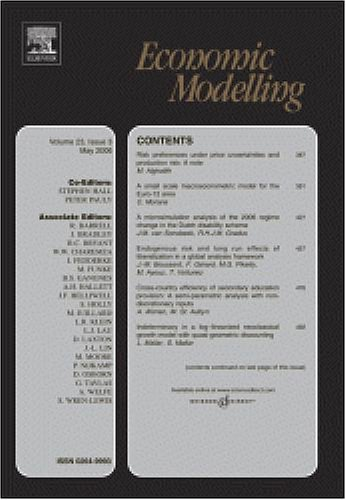 Employment- and growth effects of tax reforms [An article from: Economic Modelling]