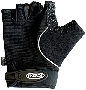 Iceni Gel Padded Summer Glove - Black, Small