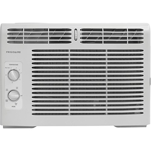 Frigidaire FFRA0511R1 5, 000 BTU 115V Window-Mounted Mini-Consolidated Air Conditioner with Mechanical Controls