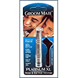 Groom Mate Platinum XL Nasal & Ear Hair Trimmer - Made in USA