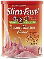 SlimFast Powder Summer Strawberry - 438 g