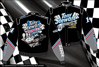 TONY STEWART BOAT SHIPMENT CHAMPS ADULT JACKET by RacingGifts