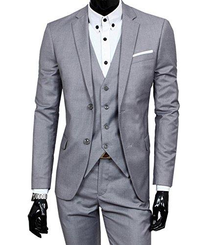 Aishang-Mens-Modern-Fit-Suit-Blazer-Jacket-Tux-Vest-Trousers-Set-3-Piece