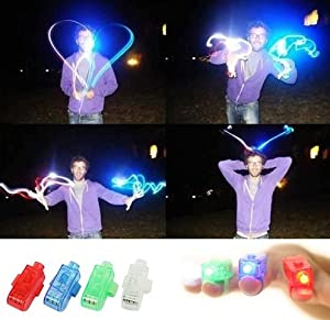 Liroyal Strap On LED Fingers - Set of 20