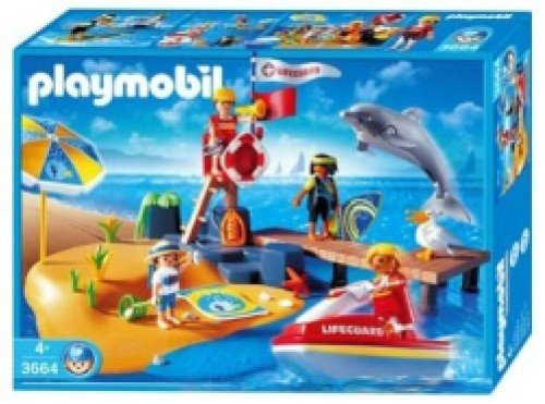 Playmobil The Beach - Buy Playmobil The Beach - Purchase Playmobil The Beach (Playmobil, Toys & Games,Categories,Play Vehicles,Vehicle Playsets)