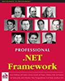 img - for Professional .NET Framework book / textbook / text book
