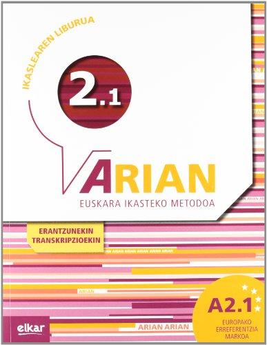 Arian A2.1 Ikaslearen liburua (+CD audioa)