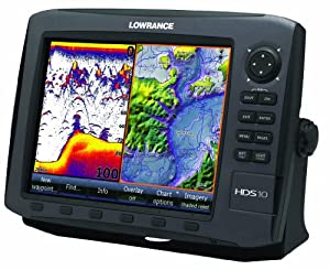Lowrance HDS-10 GEN2 Plotter Sounder, with 10.4-inch LCD, Insight USA Cartography,... by Lowrance