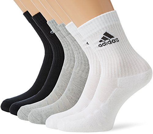 adidas 3S Crew C 6 paia di calzini Performance