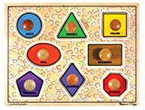 Melissa & Doug Large Shapes Jumbo Puzzle