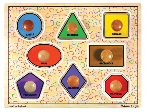 Cheap Fun Melissa & Doug Large Shapes Jumbo Puzzle (B000FPCWXI)