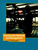 img - for Construction Methods and Management (5th Edition) 5th edition by Nunnally, S. W. (2001) Hardcover book / textbook / text book