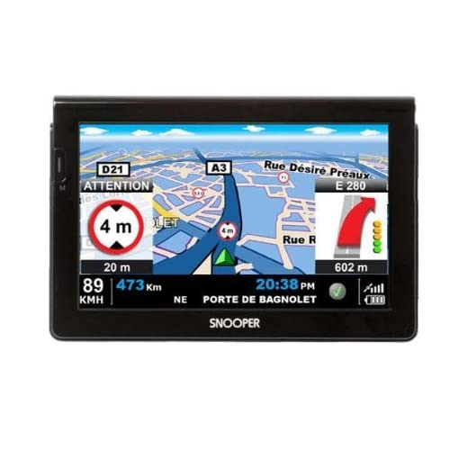 Navigation GPS SNOOPERPL7000NOIREUROPE 41 PAYS