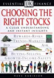 Essential Finance Series: Choosing the Right Stocks (0789463180) by Robinson, Marc