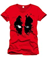 Deadpool - Eyes Homme T-Shirt - Rouge