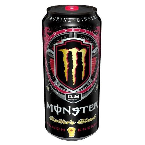 Monster Energy Dub Edition Energy Drink, Baller's Blend, 16 Ounce