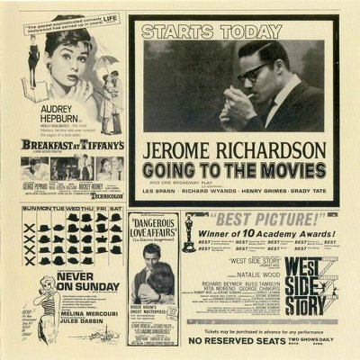 Going To The Movies by JEROME RICHARDSON, Grady Tate, Henry Grimes, Richard Wyands and Les Spaan