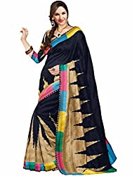Vipul Silk Saree (11430 _Black)