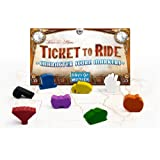 Ticket to Ride Character Score Markers