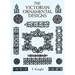 【クリックでお店のこの商品のページへ】700 Victorian Ornamental Designs (Dover Pictorial Archive)