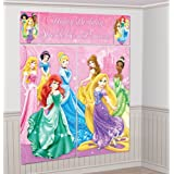 Sparkle Princess Scene Setter Wall Decorating Kit Birthday Party Girl Decor