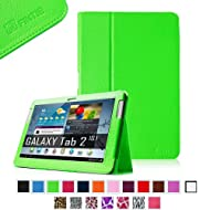 Fintie Slim Fit Folio Case Cover For Samsung Galaxy Tab 2 10.1 Inch Tablet - Green