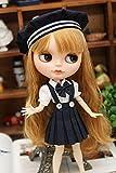 (ドーリア)Dollia ブライス 1/6ドール用 アウトフィット 学校風 制服 セーラー服 3点セット 帽子 シャツ スカート 服 ネオブライス ドール 人形