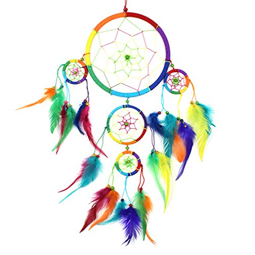 large-dreamcatcher-rainbow-bright-feather-bead-native-american-dream-catcher-fair-trade-free-postage