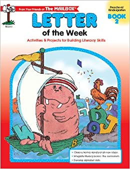 letter of the week book 2 the mailbox books staff With letter of the week books