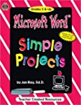 Microsoft Word(r) Simple Projects [Wi...
