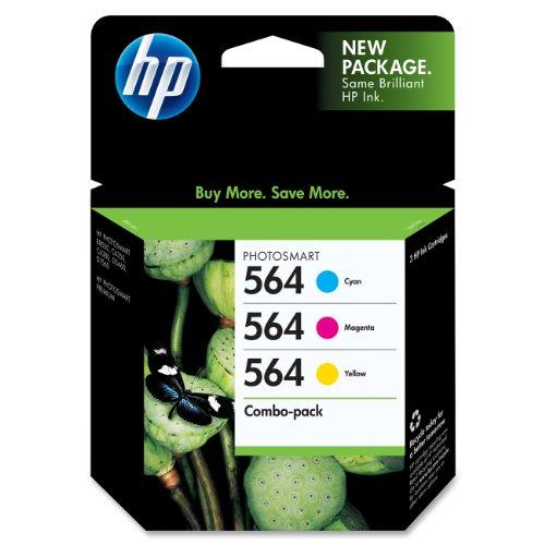 Hp 564 (Cd994Fn#140) Original Ink Cartridge, Combo Pack