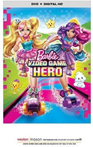 DVD : Barbie: Video Game Hero (Ultraviolet Digital Copy, Snap Case, Slipsleeve Packaging, Digital Copy, Digitally Mastered in HD)