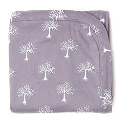 Kate Quinn Organic Receiving Blanket, Onesize (Tree)