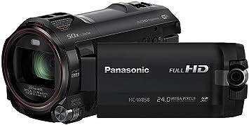 Panasonic HC-W858 Camescopes Classique 1080 pixels Zoom Optique 20 x 6.03 Mpix