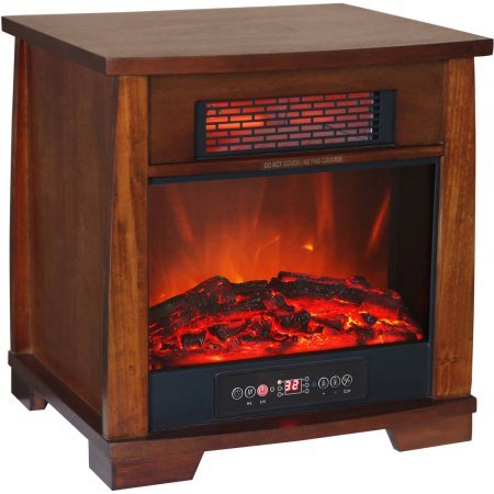 Heat Wave Infrared Quartz Heater with Flame Effect (Heat Wave Heater Infrared compare prices)