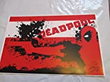 "Marvel Deadpool! 11"" By 17"" Limited Edition Print Signed By Chris Huffman , W/coa"