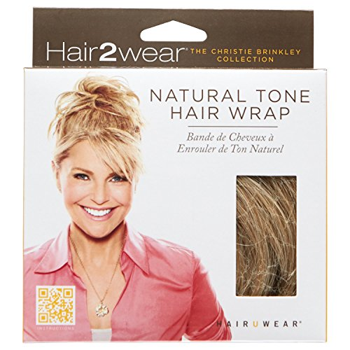 Hair2wear Christie Brinkley Collection Natural Tone Hair Wrap in Light Blonde