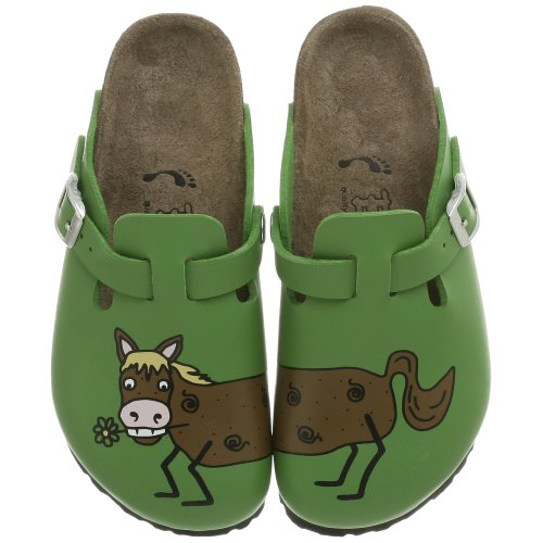 Birki's Woodby Clog (Toddler/Little Kid/Big Kid),Horse Green Bently,30 N EU (US Little Kid 12-12.5 N)