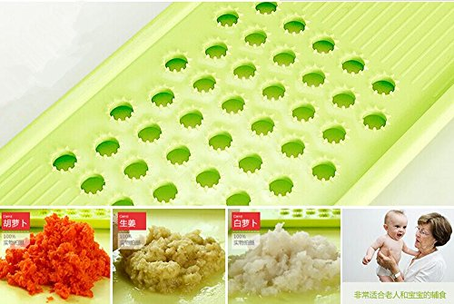 Shredder Küche Multifunktions -Qicai vier Sätze Slicer in Streifen Gerät Grater Cut Kartoffeln Draht